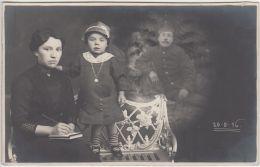 27661g  GUERRE 14-18 - MILITAIRES EN UNIFORME - FAMILLE - Guerre 1914-18