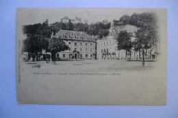 CPA 38 ISERE URIAGE LES BAINS. L Ancien Hôtel Et L établissement Thermal. 1901.