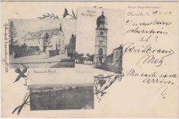 27790g   MERSSCH - Hotel Brandenburger - Tour D'Eglise - Panorama - 1900 - Luxemburg - Stad