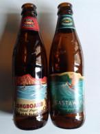 Alt913 Bottiglia Buteille Bottle Birra Biere Bier Birra Vetro Kona Brewing Hawaii Island Longboard Castaway Aloha - Birra