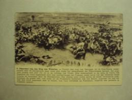 26013 - PANORAMA VAN DEN SLAG BIJ WARTERLOO - VOORBIJ DEN WEG VAN GENAPPE - ZIE 2 FOTO´S - Waterloo
