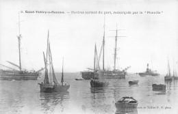 """80-SAINT-VALERY-SUR-SOMME-NAVIRES SORTANT DU PORT, REMORQUES PAR LA """"PICARDIE """" - Saint Valery Sur Somme"""