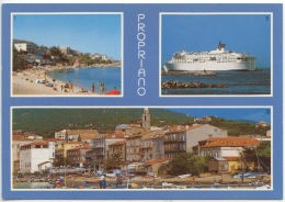 Propriano - Multivues N°20/249/150 SAD : Plage Manecini Bateau Esterel Port De P^eche (neuve) - Francia