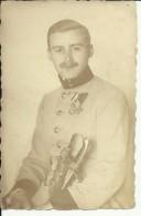B192  --  AUSTRIA, ANGSFELD    --  KuK  --  ORIGINAL PHOTO  --   OFFICER, ORDEN  --    PC FORMAT - 1914-18
