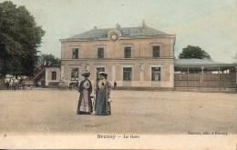 91 BRUNOY  La Gare - Brunoy