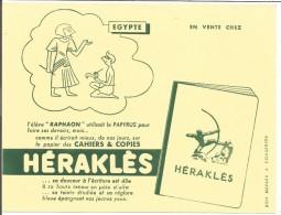 BUVARD CAHIERS HERAKLES - EGYPTE - Blotters