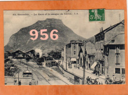 CPA * * GRENOBLE * * La Gare Et Le Casque De Néron - Grenoble