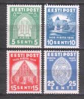 Estonia Eesti 1936 Mi 120-123 MH - Estonia