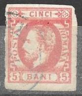 ROUMANIE - ROMANIA - 1871 -  N° 26 Oblitéré - 1858-1880 Moldavie & Principauté