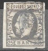 ROUMANIE - ROMANIA - 1871 -  N° 30 Oblitéré - 1858-1880 Moldavie & Principauté
