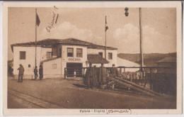 VALONA : DOGANA (DOUANE) - DOUANIERS - ECRITE 1918 - 2 SCANS - - Albanien