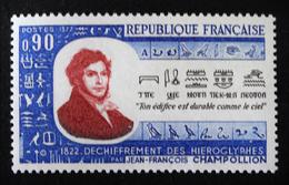 JEAN-FRANCOIS CHAMPOLLION 1972 - NEUF ** - YT 1734 - MI 1811 - Neufs