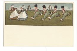 15305 -  Course Petits Hollandais Editeur MM Vienne N° 144 - Illustrateurs & Photographes