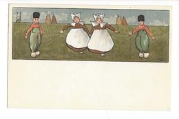 15306 -  Danse Petits Hollandais Editeur MM Vienne N° 144 - Illustrateurs & Photographes