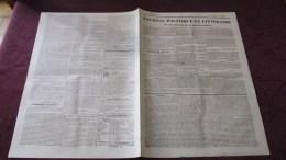 CORNEBARRIEU - REPARATIONS A LA METAIRIE DE St-JAMES - ( JOURNAL DE TOULOUSE D´AOUT 1840 .) - Newspapers