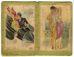 CALENDARIETTO DA BARBIERE COPPIE ILLUSTRATORE MARCEL NORSAC ANNO 1933 CALENDRIER - Calendari
