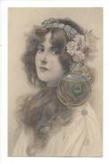 15308 - Art Nouveau  Magnifique Portrait De Jeune Fille  Editeur MM Vienne N° 228 - Illustrateurs & Photographes