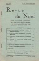 LA REVUE DU NORD - REVUE HISTORIQUE TRIMESTRIELLE - LIVRAISON GEOGRAPHIQUE - JUILLET-SEPTEMBRE 1961 - TRES INTERESSANT - - Geografia