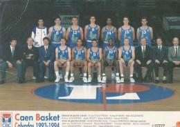 C B CAEN 1993.1994 - Pallacanestro