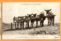 CAL1180, Ane, Auvergne, Le Mont Doré , Sommet Du Sancy, 3263, Non Circulée - Ezels