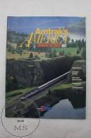 Amtrak's America - Discover The Magic 1993 - Vintage Railway/ Railroad Train Magazine - Ferrocarril