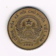 °°° VIETNAM  5000 DONG  2003 - Viêt-Nam