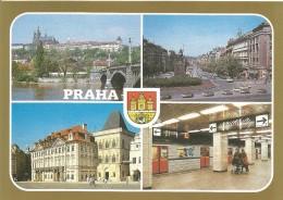 PN109 - POSTAL - PRAHA - VARIAS VISTAS - Postales