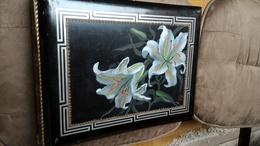 ALBUM CPA Bois Laque De Chine - Gouache Japon Dessin Peinture Main - 1900 - VIDE - Supplies And Equipment