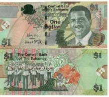 BAHAMAS New  1  Dollar    (serie  2015)  P71A  UNC - Bahamas