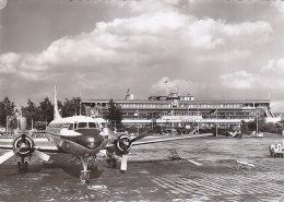 Airport Fuhlsbuttel Hamburg Germany KLM Convair Frans Fals Real Photo Postcard - Aerodromes