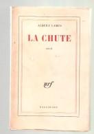 Albert CAMUS - LA CHUTE Récit  - NRF Gallimard, Imprimé En 1961 - Auteurs Classiques