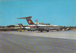 Airport Forlanini Milano Italy Swissair Alitalia DC 9 1970 - Aerodrome