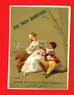 Bordeaux, Aux Trois Frères, Chromo Dorée Lith. Bognard, Paul & Virginie, 1er Acte - Kaufmanns- Und Zigarettenbilder
