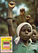 MOZANBICO MOZAMBICAN REVOLUTION MAXIMUN POST CARD  (AGO160129) - Mozambico