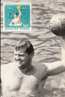 48510- HUNGARIAN OLYMPIC COMMITTEE, WATER POLO, MAXIMUM CARD, 1970, HUNGARY