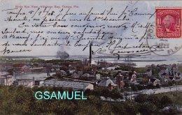 Amérique – Birds Eye View, Hillsboro Bay, Tampa, Fla. Marcophilie, Philatélie. (voir Scan). - Tampa