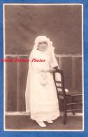 CPA Photo - Portrait D'une Jeune Fille Lors De Sa 1ere Communion - Paulette POINTIN - 21 Mai 1933 - Girl Child Mode Robe - Non Classés