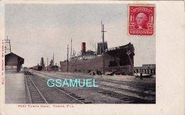 Amérique – Bateau, Paquebot - Port Tampa Dock, Tampa, Fla. Marcophilie, Philatélie - (voir Scan). - Tampa