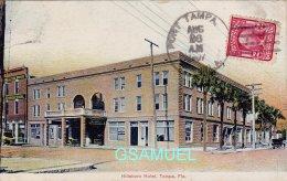Amérique - Hillsboro Hotel, Tampa, Fla. Marcophilie, Philatélie - (voir Scan). - Tampa