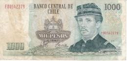 BILLETE DE CHILE DE 1000 PESOS DEL AÑO 1997  (BANK NOTE) - Chile
