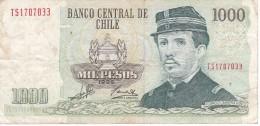 BILLETE DE CHILE DE 1000 PESOS DEL AÑO 1999  (BANK NOTE) - Chile