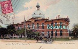 Amérique - Court House, Tampa, Fla. - Marcophilie, Philatélie. - (voir Scan). - Tampa