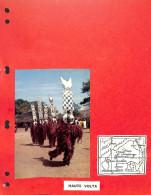 Très Belle Collection En Album - Burkina Faso ( Haute Volta ) - Timbres Sur Charnières Très Propres - Blocs - Timbres Or