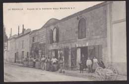 LA ROCHELLE Distillerie Raoul Maurain Et Cie Animation - Cartes Postales