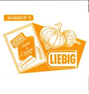 BUVARD LIEBIG N°5 SOUPE A L´OIGNON 20X14.5 BON ETAT VOIR SCAN - Soups & Sauces