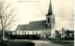 N°186 F -cpa Saint Pierre Des Ifs -l'église- - France
