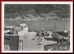 ★★ TROMSØ. STRANDTORGET Med FERGELEIET !! ★★ TROMSØ HARBOUR With FERRY BOAT. NORWAY ★a - Norwegen
