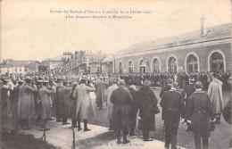 54 Meurthe Et Moselle- (Militaria) (A) Arrivée Des Recrues D´Alsace à LUNEVILLE Le 10 Février 1920 (uniformes)*PRIX FIXE - Luneville