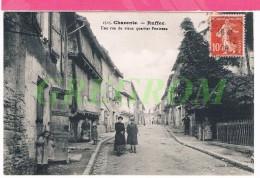 16 : RUFFEC Une Rue Du Vieux Quartier Pontreau , Charente - Ruffec