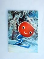 Carte Postale Ancienne : GRENOBLE : SHUSS, Personnage Officiel Des Xes Jeux Olympiques D'Hiver - Grenoble